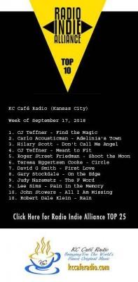 Radio Indie Alliance Chart - Sept 17