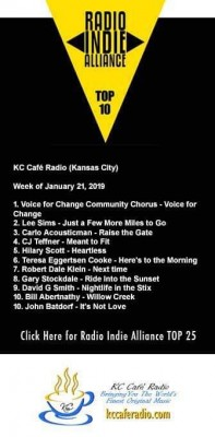 Radio Indie Alliance Jan 21 2019