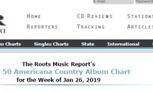Roots Music Report - Top Americana Country Album Chart - Jan 26 2019